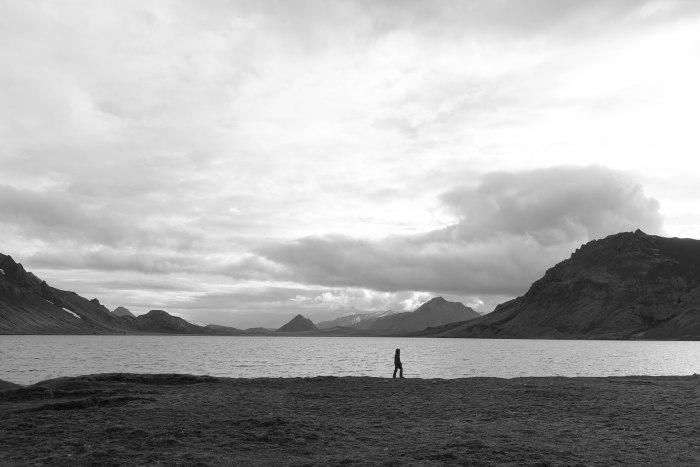 walking on the lake at sundown-00775