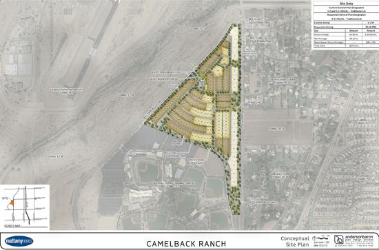 Phoenix okays Mattamy Homes plan for Camelback Ranch master ... on petco park map, echo canyon camelback mountain az map, peoria sports complex map, goodyear ballpark map,