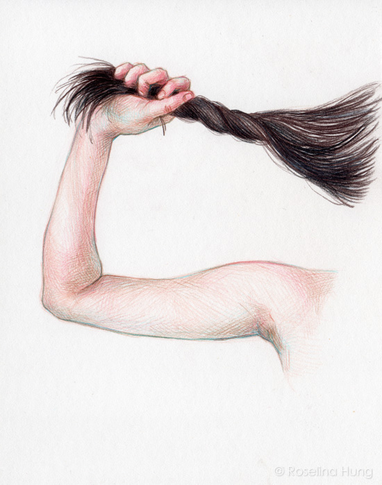 Roselina Hung - Pull (sketch) - 2015