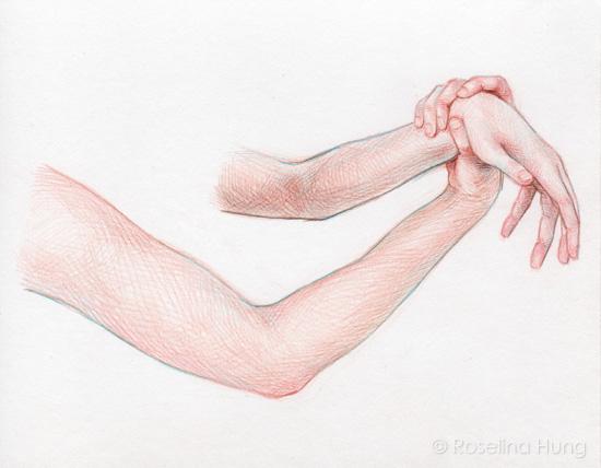 Roselina Hung - Wrist Hold (sketch) - 2015