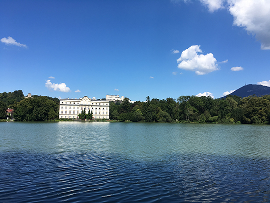 One of many places in Salzburg where The Sound of Music was filmed