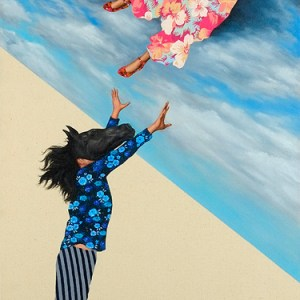 The Rise & Fall of Proserpina, Oil on canvas on board, 22 x 44 in, 2010
