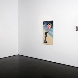 Exhibition view - Of Myth and Men - Initial Gallery (Photo credit: Byron Dauncey)