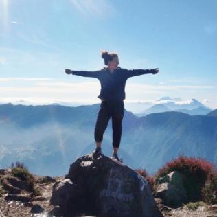 Katja in Guatemala