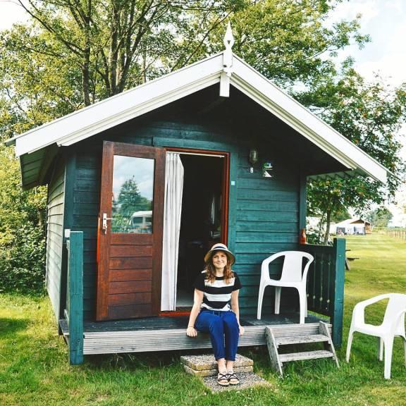 Cute little cabin in Friesland