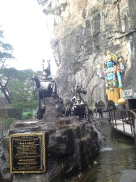 Entrance to Ramayana Cave