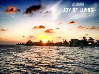 Sunset at Utila, Bay Islands 2015