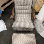 Upholstery Chair and Ottoman 2 - After - 2020