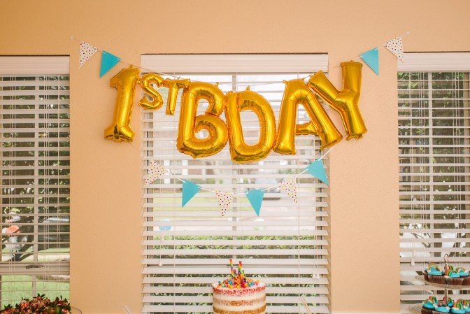 first-birthday-candy-bar-theme
