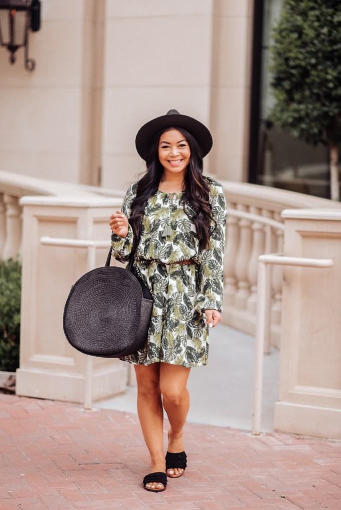 palm-print-dress