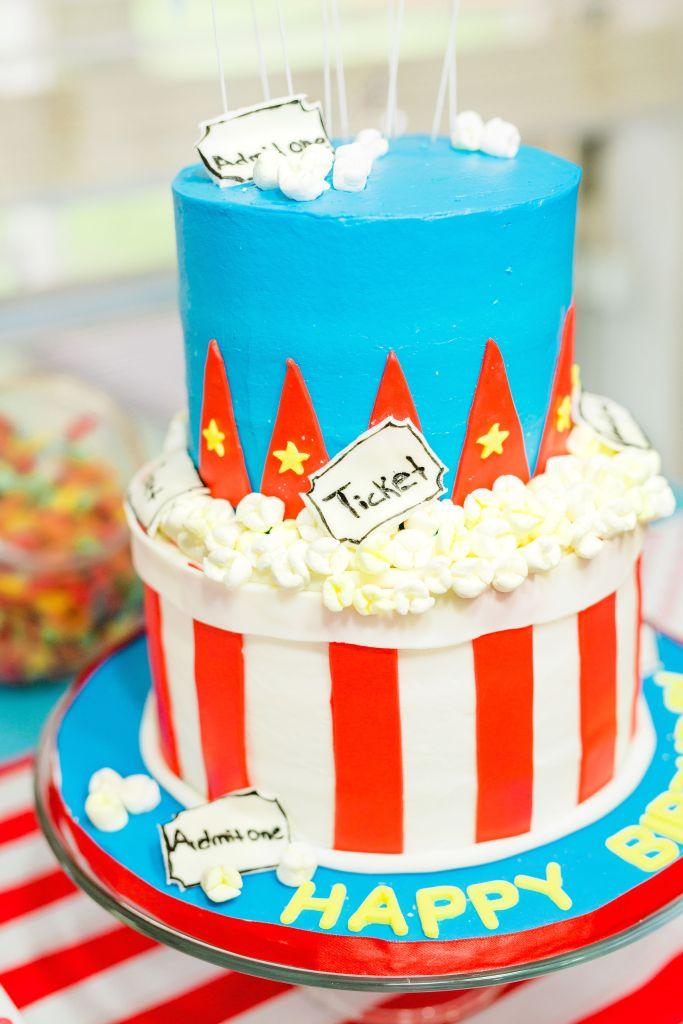 carnival-theme-birthday-cake