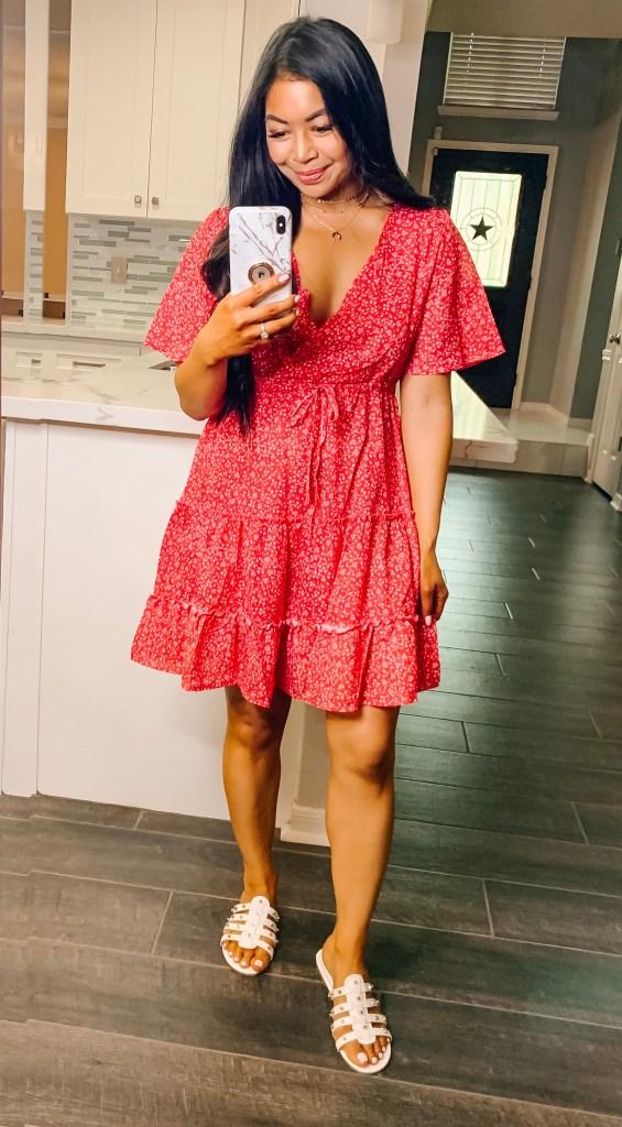 red-amazon-dress