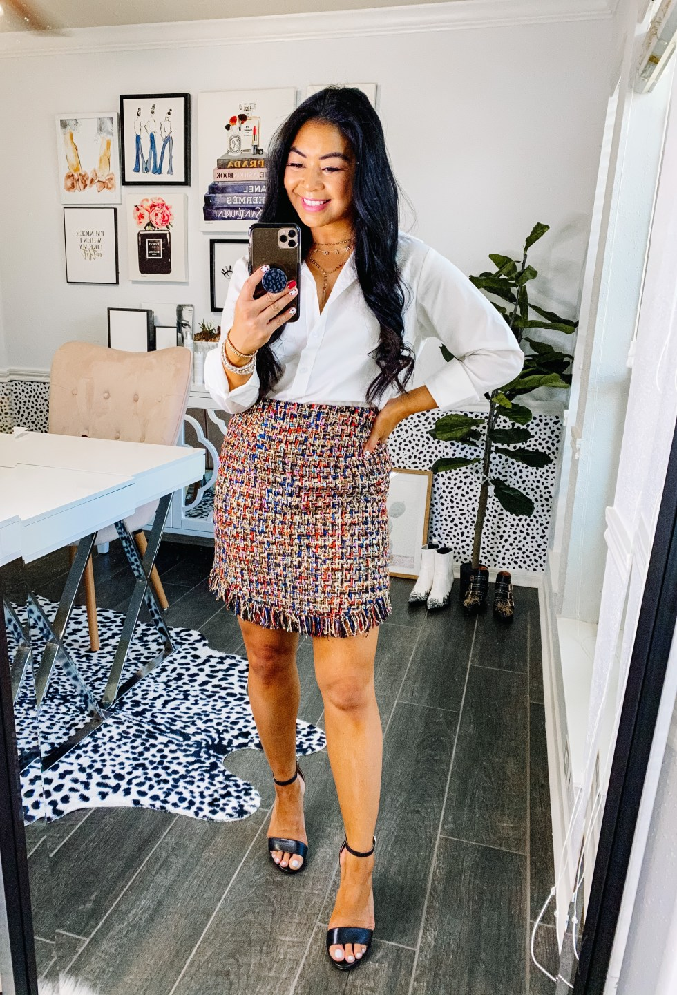 how-to-style-a-button-down-blouse