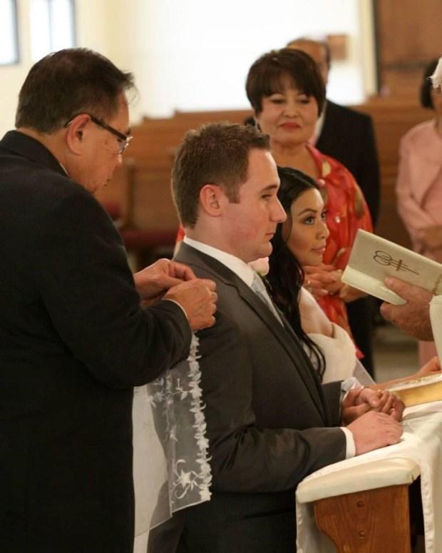 catholic wedding photos