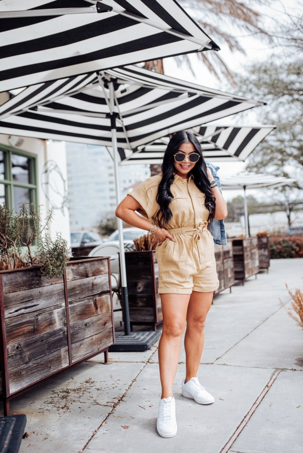 military style rompers