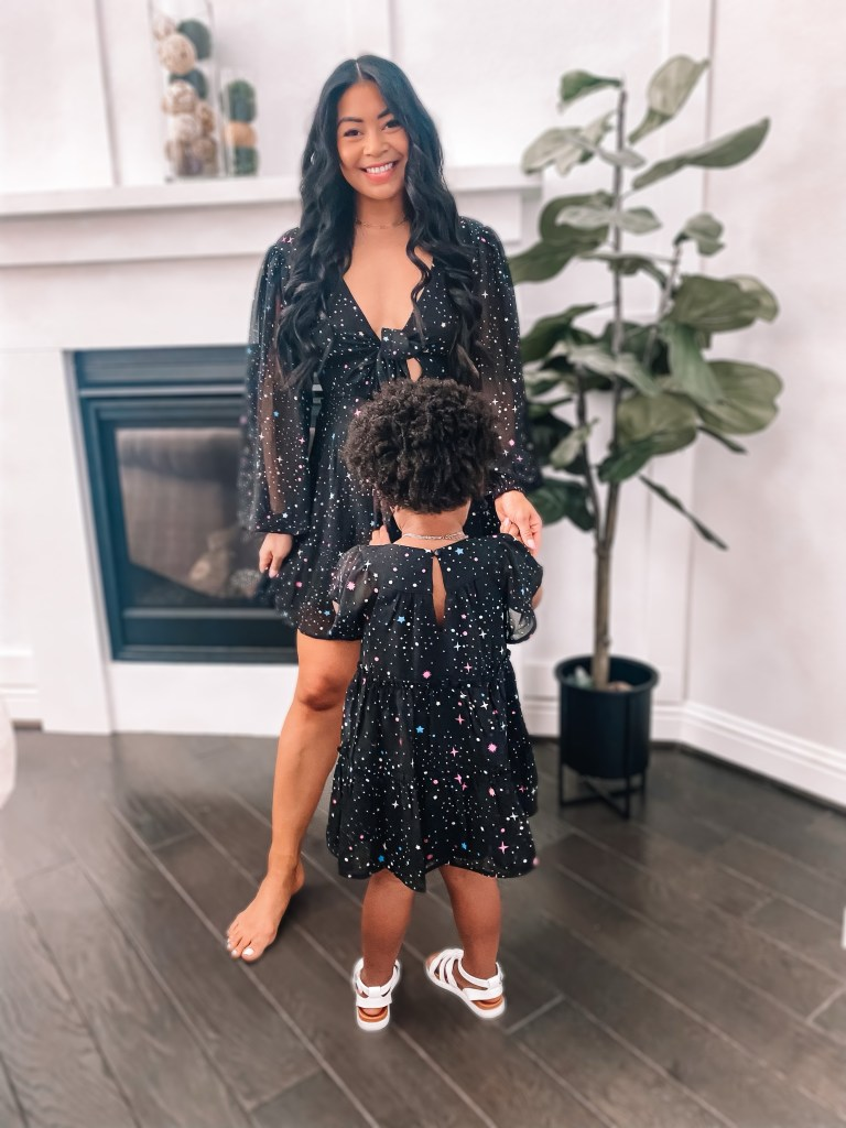 mommy and daughter matching