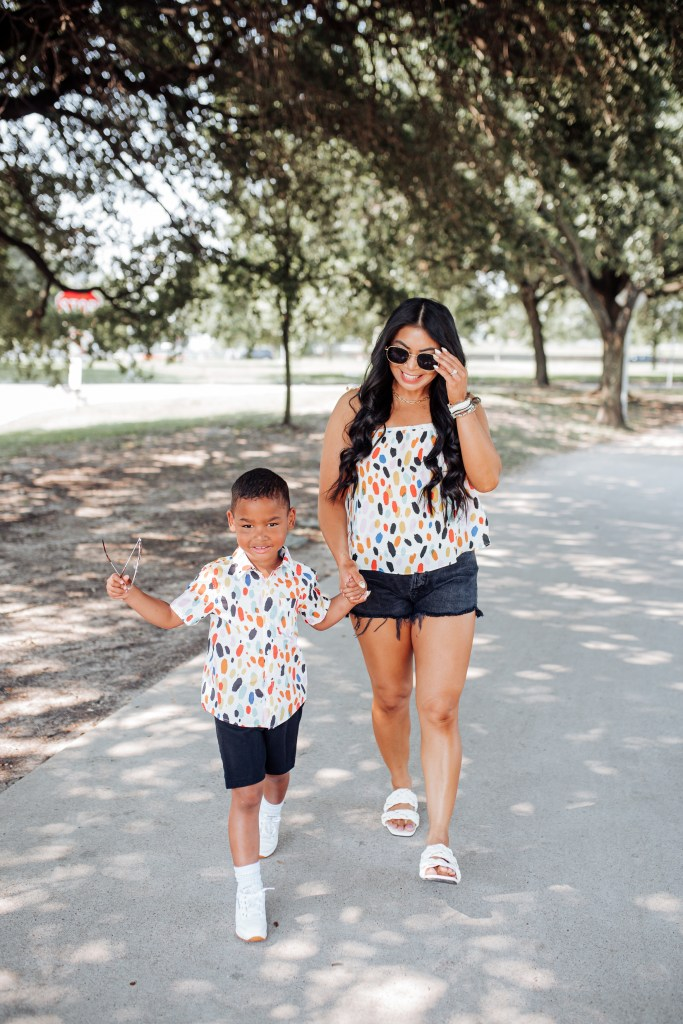 mommy and son matching shirts