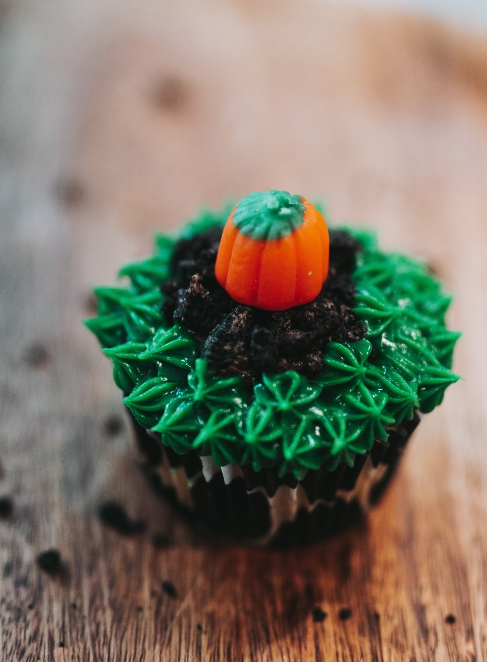 fall inspired cupcakes