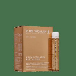Pure Woman® Caviar Collagen Ruby Elixir (12 Ampullen)