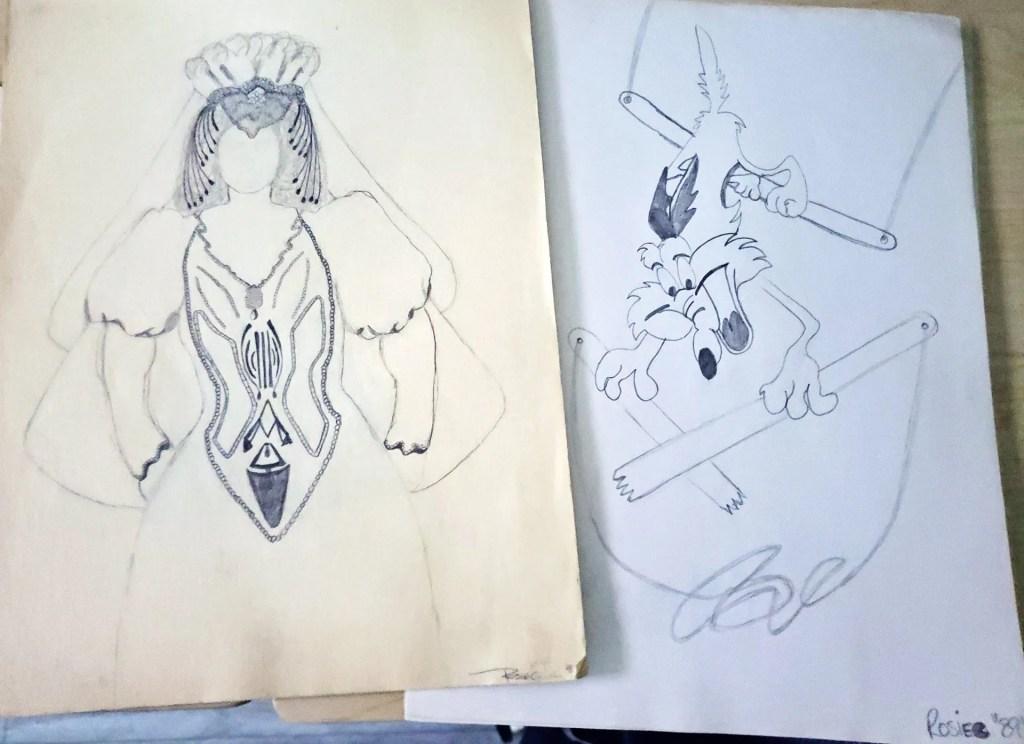 Rosemarie Guieb Early Years Drawing