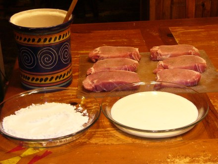 Hunter's Pork Chops (2)