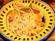 Colorful Spicy Lemon-Garlic Shrimp Linguine (11)