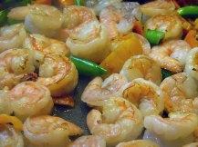 Colorful Spicy Lemon-Garlic Shrimp Linguine (5)