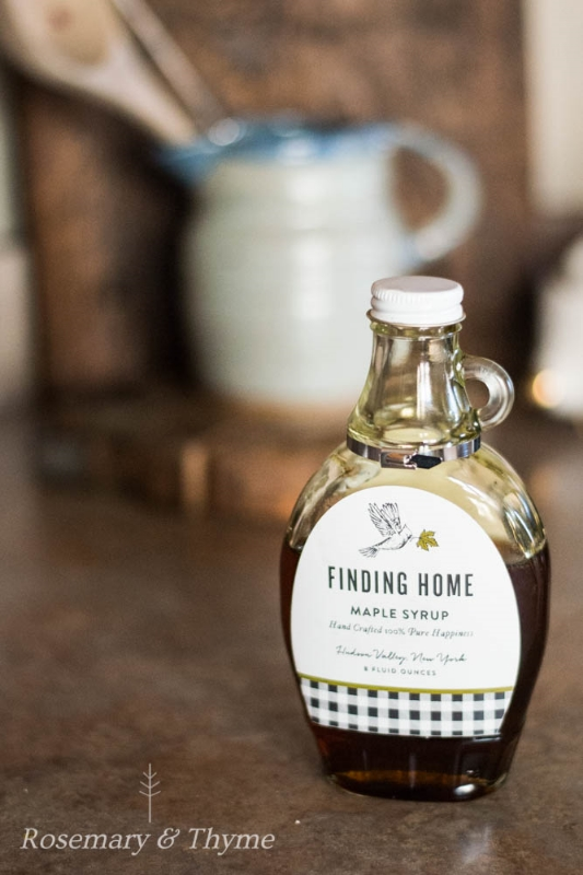finding home maple syrup