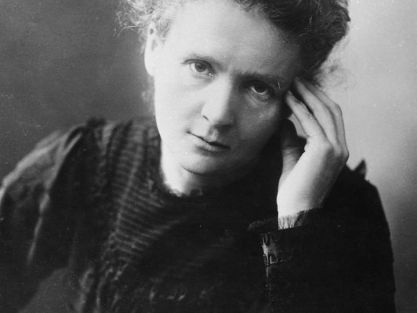 Marie Curie faced the same issues women face today.