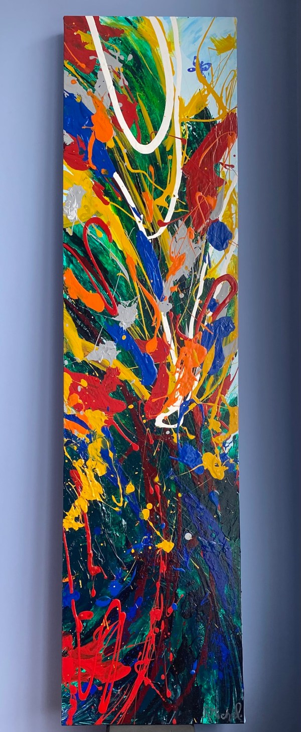 abstract art colorful