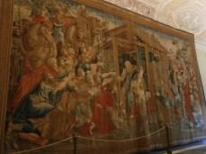 Vatican Museum - Hallway Tapestry