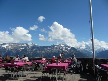 Bergrestaurant Harder Kulm Bernses Oberland