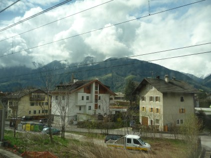 Typical little town of the Suedtirol close to the Austrian border