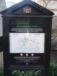 Postmans Park Aldersgate
