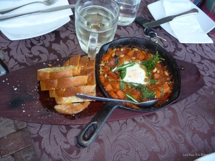 Hearty warm country bean stew