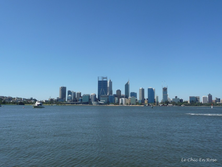 Perth city centre - view across the Swan River from the South Perth foreshore