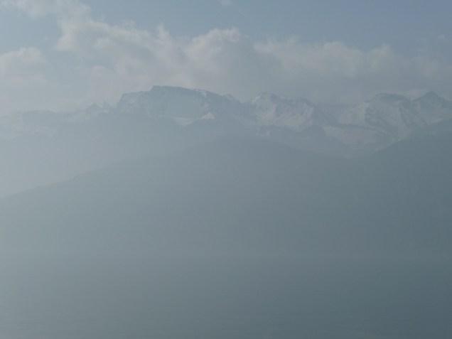 Even shrouded in the mist Weggis is beautiful