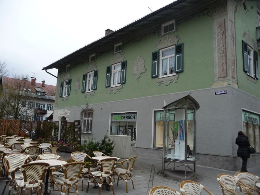 Pretty cafe in Garmisch Partenkirchen