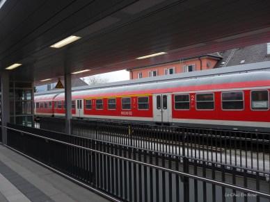 Garmisch Partenkirchen Station is a busy interchange