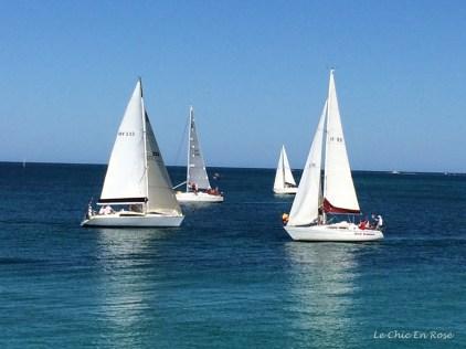 Australia Day morning near Hillarys Boat Harbour Perth