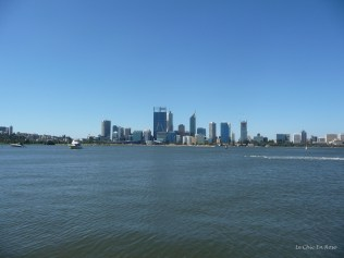 View of the city of Perth across the river