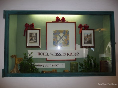 Mozart stayed at this old Gasthof-Hotel.