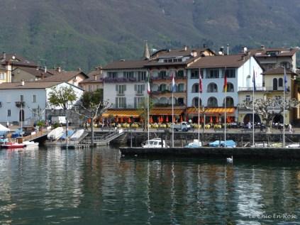 Ascona Quayside Switzerland