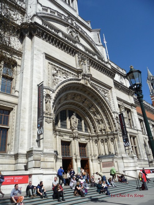 Front entrance to the V&A Museum Cromwell Road London