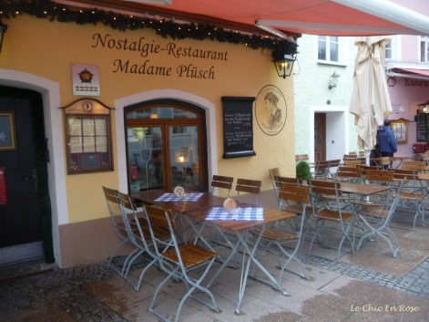 Another charming Bavarian cafe in Fuessen