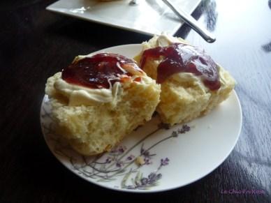 Devonshire tea - always a good option!