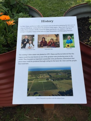 History of Cullen wines