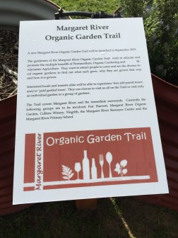 Details of the local Organic Garden Trail of which Cullen is a participant