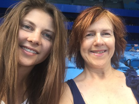 Mlle and Le Chic En Rose at the Hopman Cup