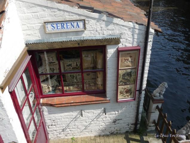 Little tapestry shop Bruges